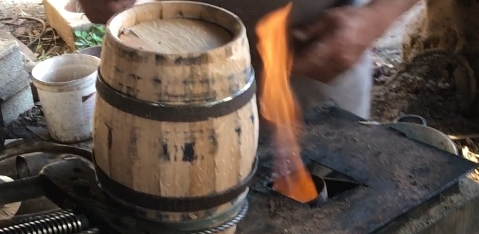 toasted barrels from french oak MADE IN PORTUGAL