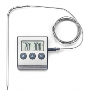 DIGITAL/MAGNETIC  THERMOMETER WITH PROBE