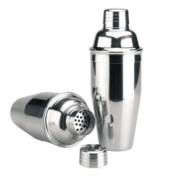 stainless steel cocktail shaker