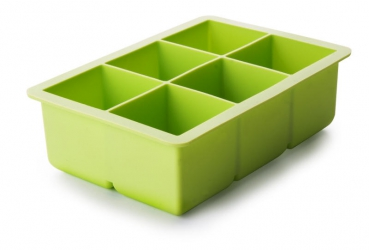 XL ice cube tray for 6 ice cubes
