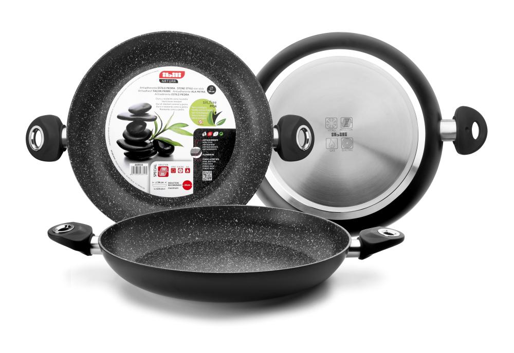 haushaltswaren zum kochen und backen bequem online einkaufen paella pfanne paellapfanne pan. Black Bedroom Furniture Sets. Home Design Ideas
