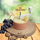 Premium Cheese Slicer Wood Fleurolle Tradition - MADE IN SWITZERLAND