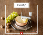 Premium Cheese Slicer INOX Fleurolle - MADE IN SWITZERLAND