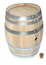 50 Liter toasted=burned out Barrel in french oak wood