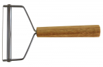 cheese cutter with wooden handle