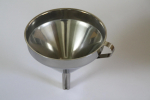 Jam maker funnel with reducer stainless steel