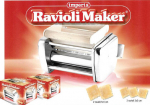 Attachment Raviolini / Ravioli maker for Pasta making Machine from imperia