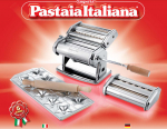 Pastaia Italiana pasta machine Set from Imperia