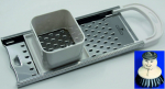 Swabian noodle grater / maker - for long spaetzle - s/s