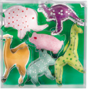 Cookie Box 6 pieces jungle animals