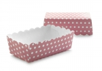 12 x disposable paper bakeware RECTANGULAR