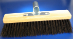 Oven broom with arenga-bristles