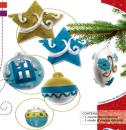 Plastic mold Christmas decorations