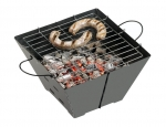 Foldable barbecue set