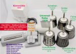 Multitool System GSD like Pasta making machine + Grain Mill + Vegetable Grater + Nutgrater