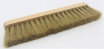 Powder brush wood with natural bristles