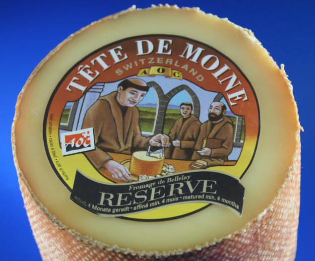 400 g reserve tete de moine aoc original girolle k se cheese fromage m nchskopf ebay. Black Bedroom Furniture Sets. Home Design Ideas
