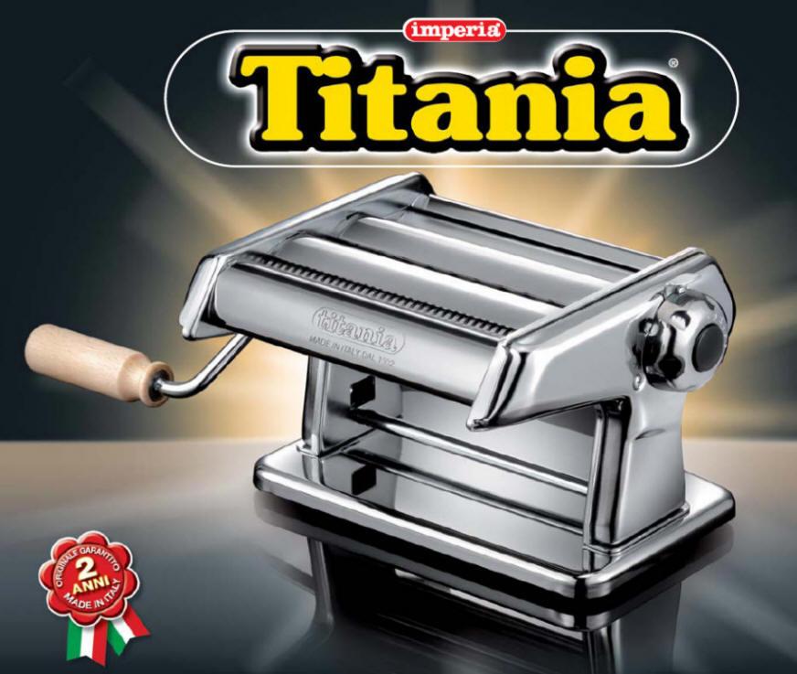 titania machine p tes nouille machines imperia noodle p tes making machine a pates ebay. Black Bedroom Furniture Sets. Home Design Ideas