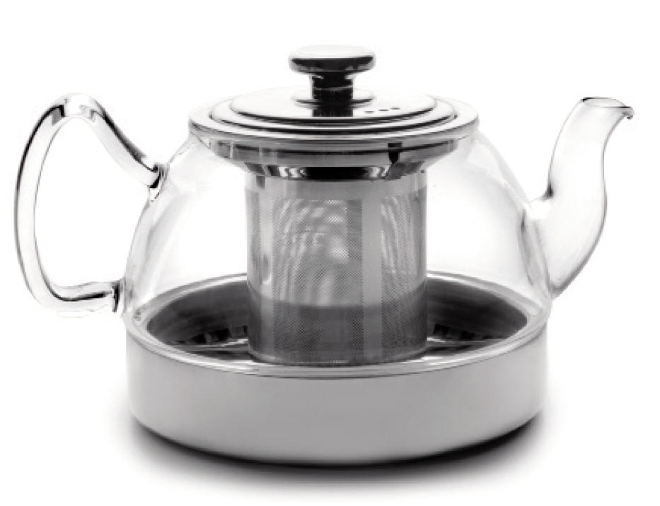 herd teekanne 800 ml geignet f r herd induktion elektro glass teapot with filter ebay. Black Bedroom Furniture Sets. Home Design Ideas